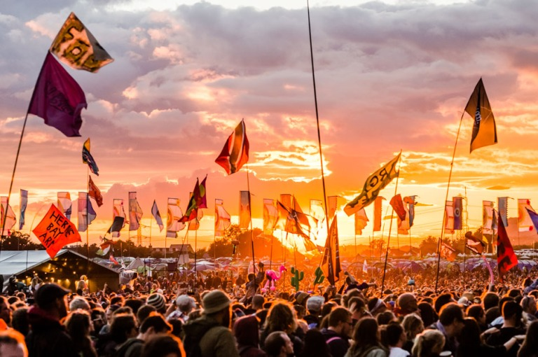 Photo from Glastonbury Official Website
